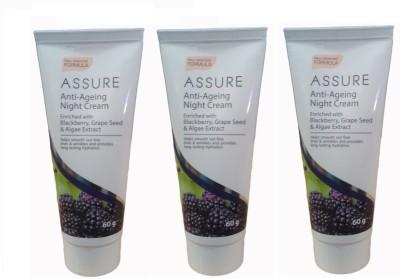 Assure Anti Ageing Night Cream (Pack of 3)