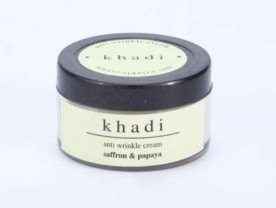 khadi Natural Saffron & Papaya Anti Wrinkle Cream