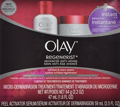 Olay Regenerist Microdermabrasion And Peel System 1 K(47 ml) at flipkart