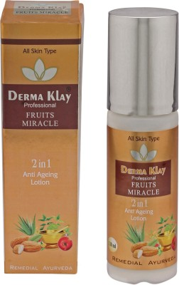 DERMA CLAY Professional Fruits Miracle 2 IN 1 Anti Ageing Lotion