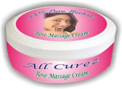 All Curez Rose Massage Cream (100 g)