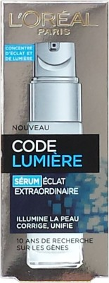 L,Oreal Paris Code lumiere extraordinary illuminating serum(30 ml)
