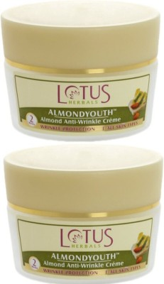 Lotus Almond Anti Wrinkle Cream