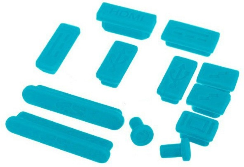 Pindia USB Blue Anti-dust Plug(Laptop Pack of 12)