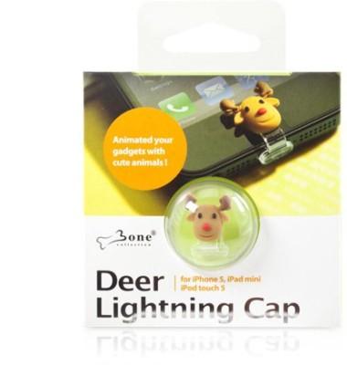 MDS Deer Lightning Cap Power Port Brown Anti-dust Plug(Tablet, Mobile Pack of 1)