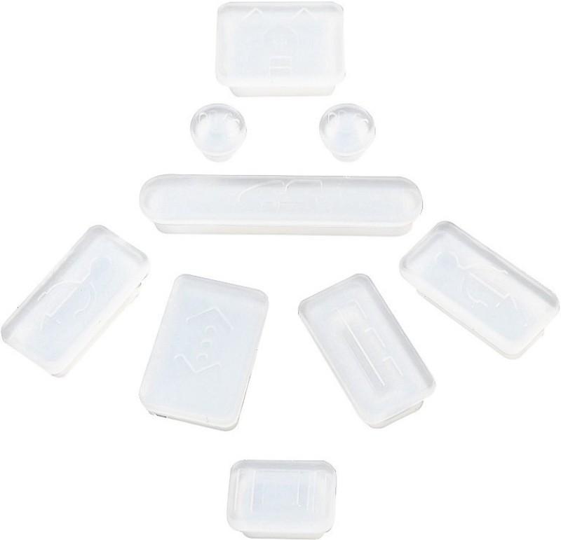 Pindia Apple Macbook Pro 13 13.3 Inch Mc375hn/A & Mc375ll/A USB Clear Anti-dust Plug(Laptop Pack of 9)