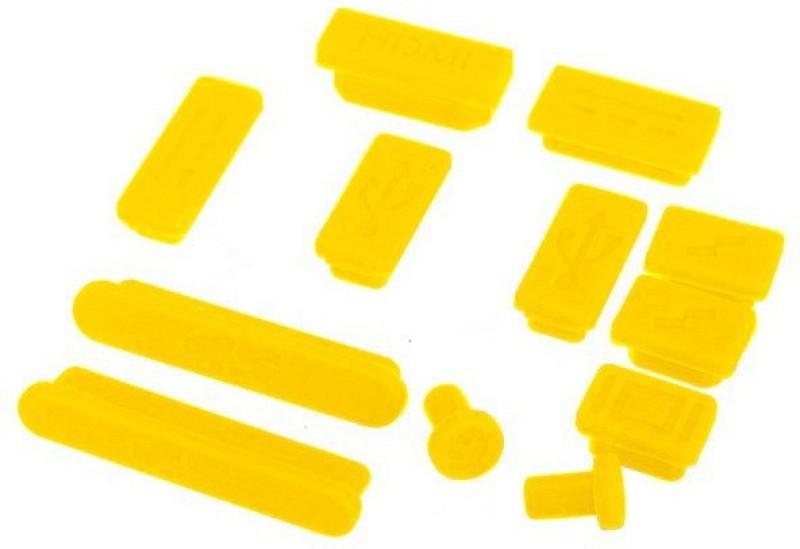 Pindia USB Yellow Anti-dust Plug(Laptop Pack of 12)