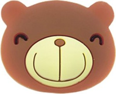 MDS Teddy Lightning Cap Power Port Brown Anti-dust Plug