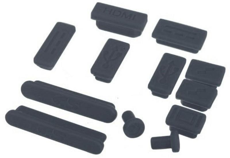 Pindia SD Card Slot Black Anti-dust Plug(Laptop Pack of 12)