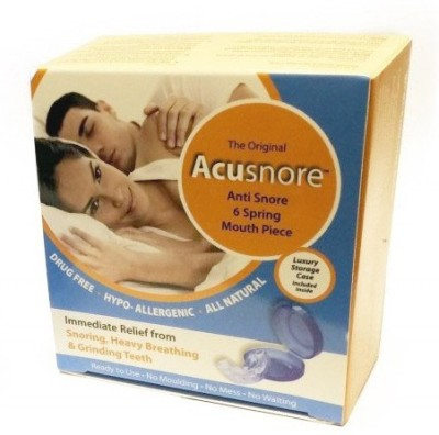 Acusnore 6 Spring Mouth Piece Guard Anti-snoring Device