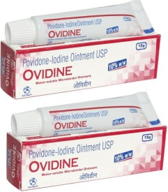 Ind-Swift Ovidine (Combo pack of 2) Antiseptic Ointment