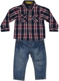 Mothercare Boys Casual Shirt Trouser (Bl...