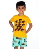 Ventra Boys Casual Pyjama (Multicolor)