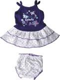 Harsha Girls Casual Dress Panty (Purple)