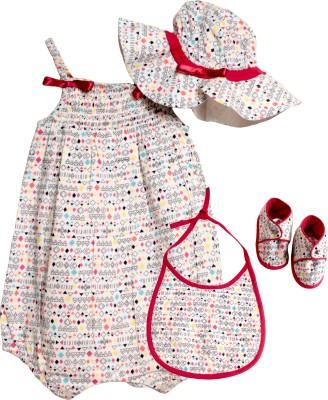 My Little Lambs Romper Baby Girl's  Combo