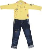 Sydney Boys Casual Shirt T-shirt (Yellow...