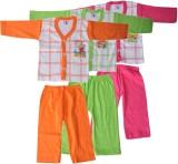 Harsha Boys Casual T-shirt Trouser (Gree...