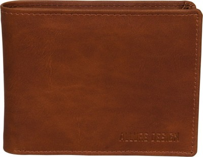 ALLURE DESIGN Men Tan Artificial Leather Wallet