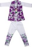 Yashasvi Girls T-shirt (Purple)