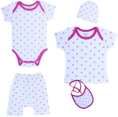 Just Chill T-shirt Baby Girl's  Combo
