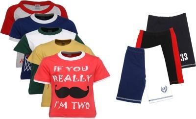 Gkidz T-shirt Boys  Combo