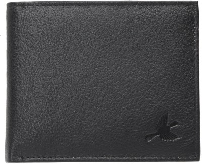 Hornbull Men Black Genuine Leather Wallet