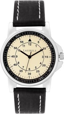 Laurels Lo-Vin-102 Vintage Analog Watch  - For Men