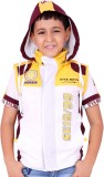 OKS Boys Boys Casual T-shirt Jacket (Yel...