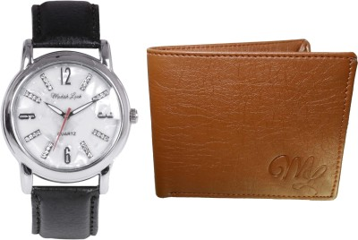 Modish Look Wrist Watch Men's  Combo