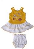 Harsha Girls Casual Dress Panty (Yellow)