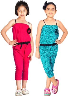 Naughty Ninos Jumpsuit Girl's  Combo