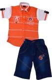 Color Kids Boys T-shirt (Orange)