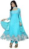Kiran Georgette Embellished Dress/Top Ma...