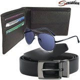 Sensation Wallet Men's  Combo
