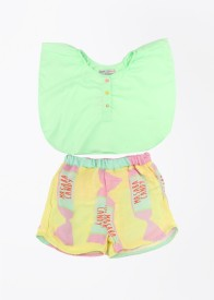 Masaba for Magic Fairy Girls Casual Top(Green)