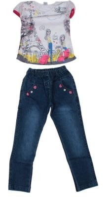 Honeybum Jeans Girl's  Combo