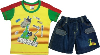 Born Genius T-shirt Baby Boy's  Combo