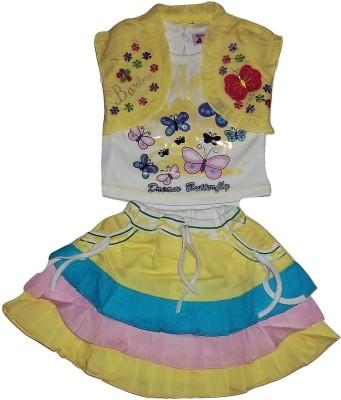 Gungun Fashion Dress Baby Girl's  Combo