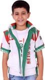 OKS Boys Boys Casual T-shirt Jacket (Gre...