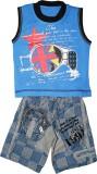 Littlelife Boys Casual T-shirt Pant (Blu...