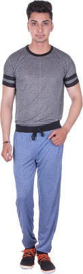Gag Wear Solid Men's Dark Blue Track Pants