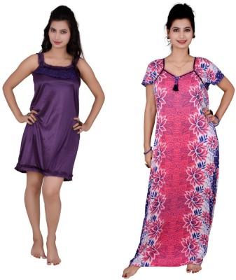 Kismat Fashion Nighty Women's  Combo