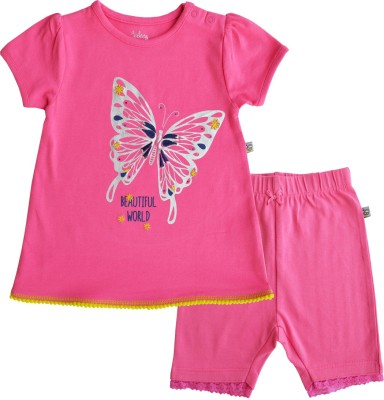 Babeez World Track Suit Baby Girl's  Combo