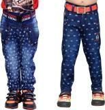 AJ Dezines Boys Casual Jeans Jeans (Blue...