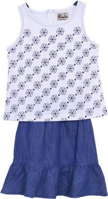 lil penguin Skirt Baby Girl's  Combo