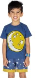 Ventra Boys Casual T-shirt (Blue)