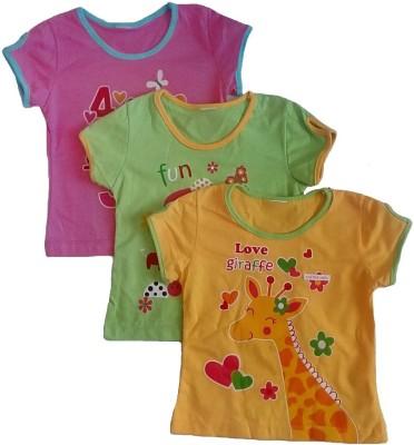 Sonpra T-shirt Baby Girl's  Combo