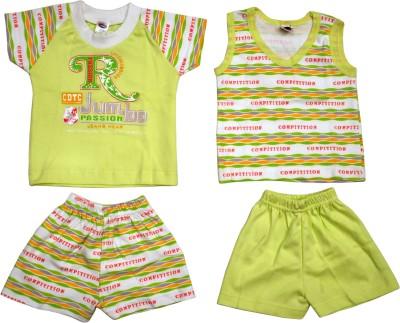 Belle Girl 3 - 6 Months T-shirt Baby Boy's  Combo