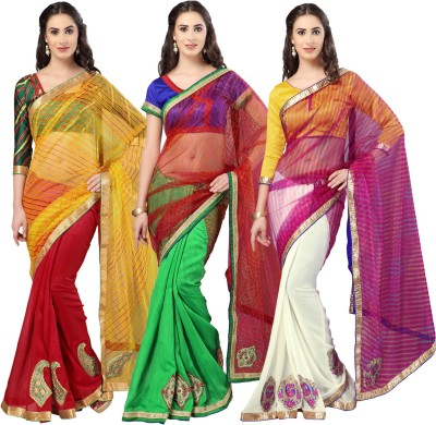 Bhelpuri Sari Women's  Combo