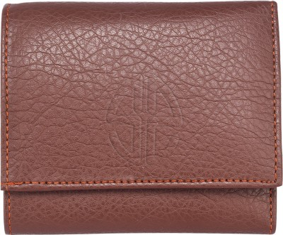 Swisstyle Men Brown Genuine Leather Wallet